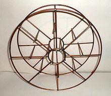 q copper metal spool repurposing help, repurposing upcycling