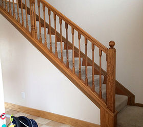 The Classic Look Dark Treads And White Risers Diy Stairs, Painting, Stairs,  Woodworking