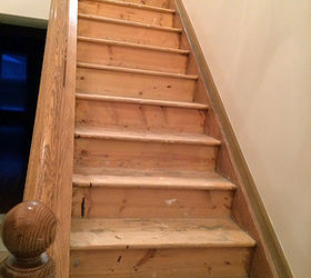 Beau The Classic Look Dark Treads And White Risers Diy Stairs, Painting, Stairs,  Woodworking