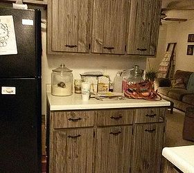 Charmant Q What Would You Do With These Fake Barn Wood Cabinets, Kitchen Cabinets,  Kitchen