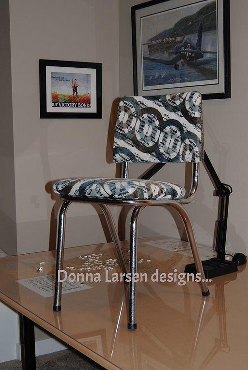 Retro Chrome Kitchen Chair UpStyle | Hometalk