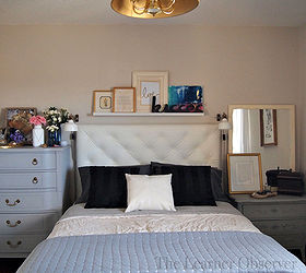 Diy Leather Tufted Headboard, Bedroom Ideas, Crafts, Diy, How To, ...