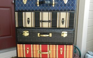 suitcase dresser a tutorial, how to, painted furniture