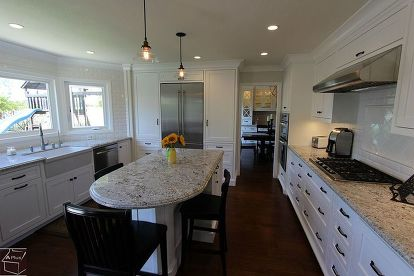 Kitchen Remodel With Custom White Cabinets In Laguna Niguel Hometalk