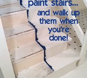 Superbe How To Paint Stairs And Get On With Your Day While The Paint Dries, Basement