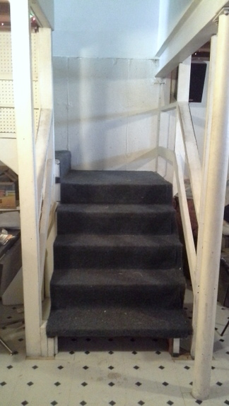 how to paint stairs and get on with your day while the paint dries, basement ideas, home improvement, how to, painting, stairs