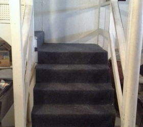 How To Paint Stairs And Get On With Your Day While The Paint Dries, Basement