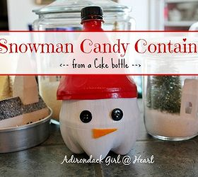 soda bottle candy container crafts repurposing upcycling