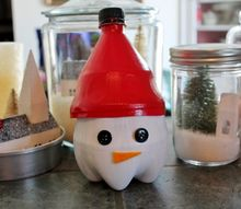 soda bottle candy container, crafts, repurposing upcycling
