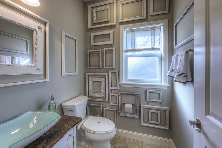 Wall Decor Made from Frames | Hometalk