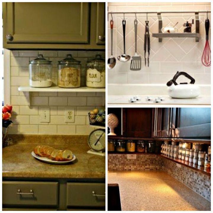 Kitchen Storage And Work Area: Kitchen Organization Ideas