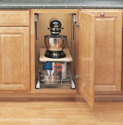 Can anyone tell me where to store those heavy Kitchenaid mixers ...
