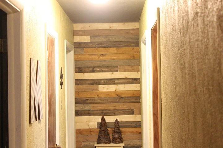 Painted Wood Plank Wall | Hometalk