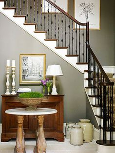 Hanging Art Work on Staircase | Hometalk