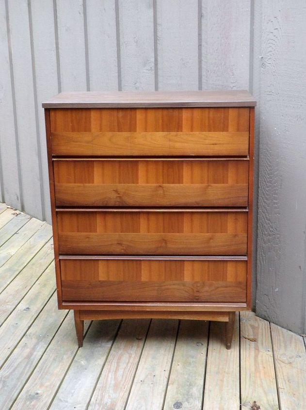 upcycled drawer chest to diy faux card catalog reveal, painted furniture, repurposing upcycling
