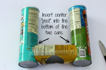 Upcycle Pringles Can Easy Craft Ideas