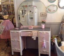 plain vintage dresser to shabby chic charmer, painted furniture, shabby chic