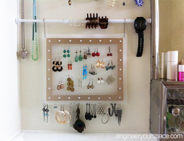 small bathroom storage using tension rods, bathroom ideas, organizing, small bathroom ideas, storage ideas