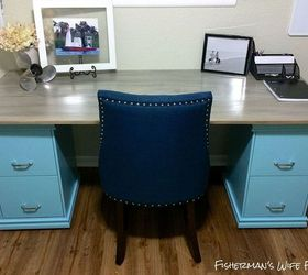 Diy Filing Cabinet Desk, Diy, Home Decor, Home Office, Painted Furniture