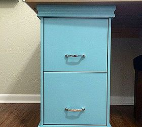 Great Diy Filing Cabinet Desk, Diy, Home Decor, Home Office, Painted Furniture