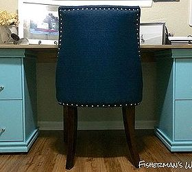Elegant Diy Filing Cabinet Desk, Diy, Home Decor, Home Office, Painted Furniture