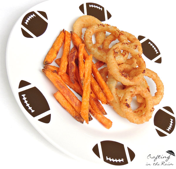 game day football plate gametime, crafts
