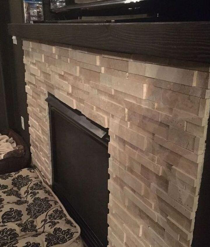 diy mantle for 20 bucks, fireplaces mantels