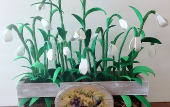 Snowdrop - January's Winter Flower Centerpiece DIY