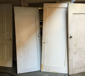 he turned these salvaged doors into something amazing doors repurposing upcycling storage ideas & Repurposing Early to mid Century Doors into Storage | Hometalk