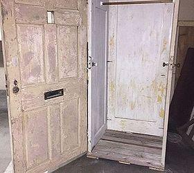 he turned these salvaged doors into something amazing doors repurposing upcycling storage ideas & Repurposing Early to mid Century Doors into Storage | Hometalk