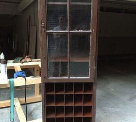 Repurposed Folding Louvered Closet Doors To Clothes And Shoe, Closet, Doors,  Repurposing Upcycling ...