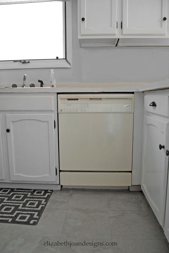painted dishwasher, appliances, painting