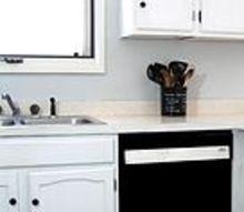 painted dishwasher, appliances, painting