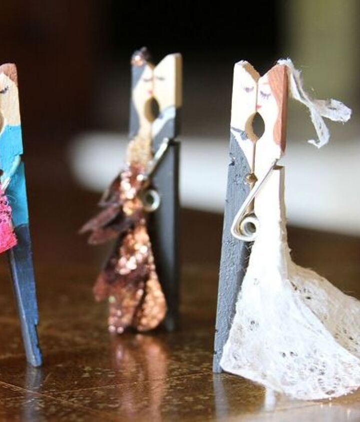 you will never see a spare clothespin the same way again, crafts, how to, repurposing upcycling, seasonal holiday decor, valentines day ideas