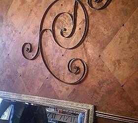 Pottery Barn Wall Art Turned Ceiling Medallion, Dining Room Ideas,  Repurposing Upcycling, Wall