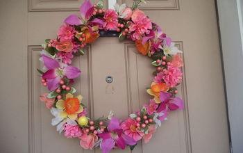 My DIY Spring/ Easter/ Summer Wreath.