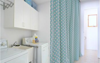 Cheater Laundry Room Makeover