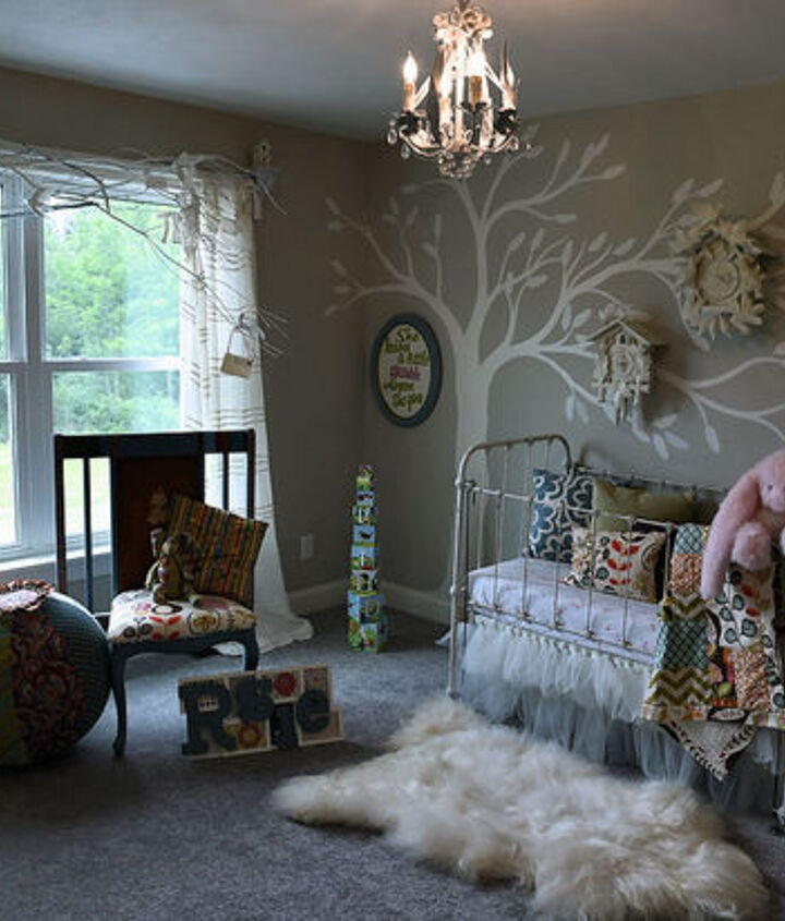 cuckoo for nursery wall art, bedroom ideas, crafts, painting, repurposing upcycling, wall decor