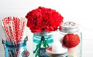 useful mason jar ideas that you don t have to be crafty to do, crafts, mason jars, repurposing upcycling