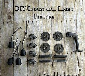 Diy industrial lighting Industrial Interior Design Diy Industrial Vanity Light u003d 67 Hometalk Diy Industrial Vanity Light u003d 67 Hometalk