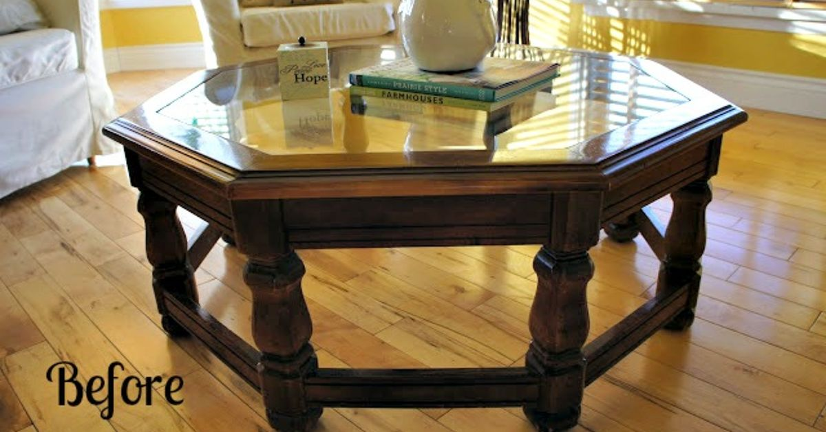 Chalk Paint Coffee Table Transformation Hometalk