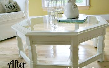 Chalk Paint Coffee Table Transformation!