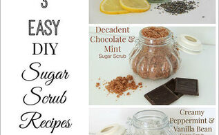 easy diy sugar scrub recipes perfect for gift giving, crafts, how to