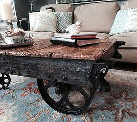 Factory Cart Coffee Table Hometalk