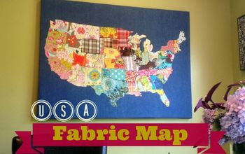 USA Fabric Remnant Map