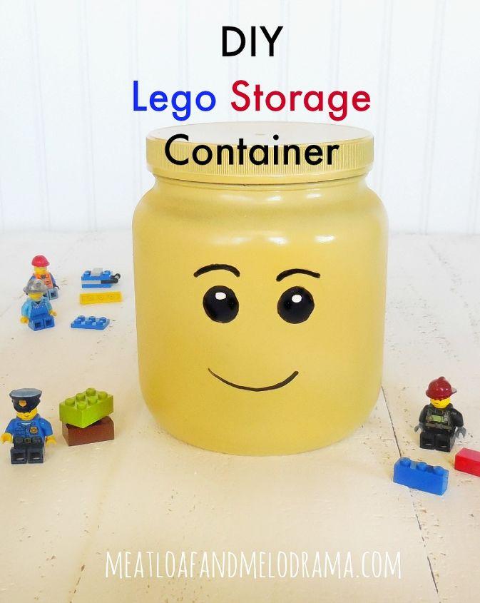 diy lego head organizer, crafts, organizing, repurposing upcycling, storage ideas