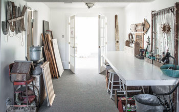 From Heaps of Shame to a New, Repurposed Craft Room... for FREE!