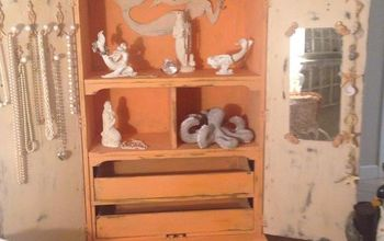 upcycled girl bedroom closet, chalk paint, painted furniture, repurposing upcycling, shabby chic