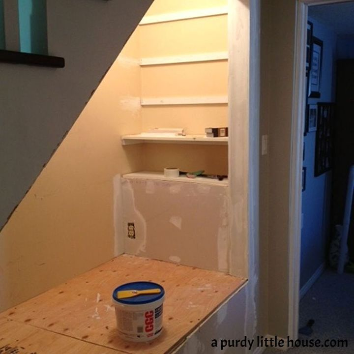 Top 70 Best Basement Stairs Ideas: Under The Stairs Book Nook