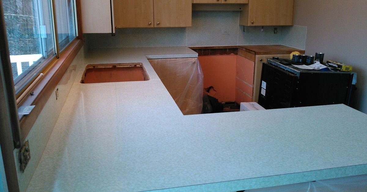 Updating Formica Kitchen Countertops